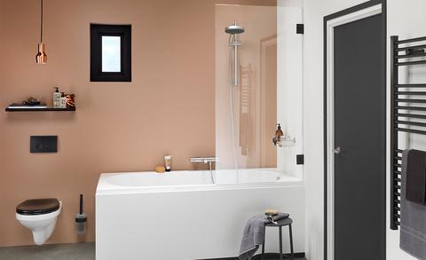 Uitgelicht: douchecabine met bad