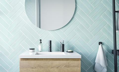 Badkamertrend gespot: ronde spiegels