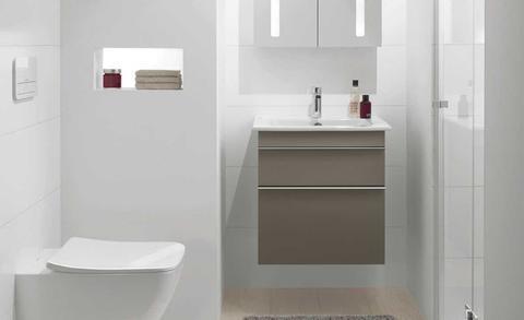 Badkamermeubels voor de kleine badkamer