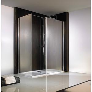 HSK Walk-in Atelier vrijstaande zijwand 90x200cm Chroom / Helder Glas