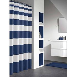 Sealskin Douchegordijn Textiel Nautica 200 x 180cm Blauw