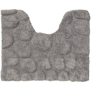 Sealskin Pebbles Toiletmat Grijs