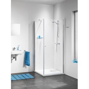 Get Wet by Sealskin C105 Douchecabine Vierkant met draaideur 90x90x195cm Glanzend chroom/Helder glas