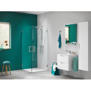 Get Wet by Sealskin I am Draaideur 90x200cm Chroom-zilver hoogglans/Helder glas (antikalk)