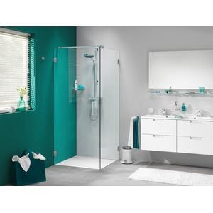 Get Wet by Sealskin I am Draaideur voor zijwand 90x200cm RVS/Helder glas (antikalk)