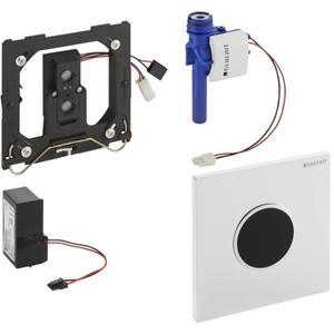 Geberit Sigma 10 urinoir stuursysteem infrarood 230v Zwart-Chroom-Zwart