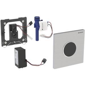 Geberit Sigma 10 urinoir bedieningsplaat infrarood netvoeding Rvs Geborsteld