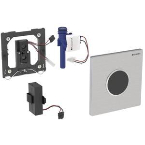 Geberit Sigma 10 urinoir bedieningsplaat infrarood batterij Rvs Geborsteld