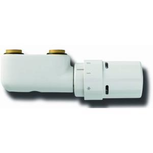 Vasco  design ventielset haaks thermostaatknop Wit RAL 9016