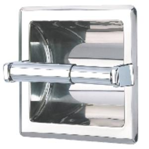 Geesa Serie 100 inbouw closetrolhouder RVS Look