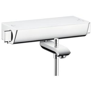 Hansgrohe Ecostat Select badthermostaat met omstel Wit-Chroom