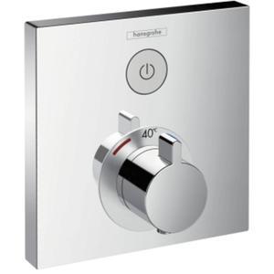 Hansgrohe Showerselect afdekset douchethermostaat met 1 stopfunctie Chroom