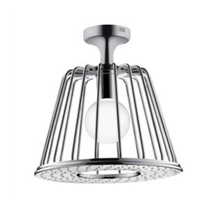 Hansgrohe Axor By Nendo lampshower 275mm rond plafondbevest. 1 straalsoort Chroom