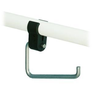 Handicare closetrolhouder voor beugel RVS