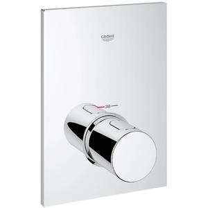 Grohe Grohtherm F afdekset voor centraal thermostaat Chroom
