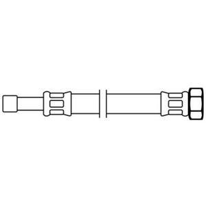 Neoperl Neoflex flexibele aansluitslang 15 cm. 12x3/8 inch buisxbi.
