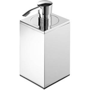 Geesa Modern Art zeepdispenser vrijstaand Chroom