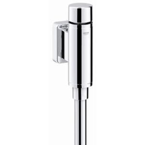Grohe Rondo urinoir druksp.1/2 inchm/stopkr. m/spoelp.en verbinder Chroom