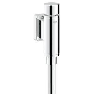 Grohe Rondo urinoir druksp.1/2 inch z/stopkr.m/spoelp.en verbinder Chroom