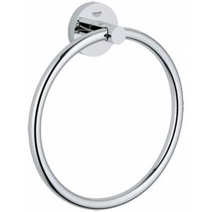 Grohe Essentials handdoekring rond Chroom