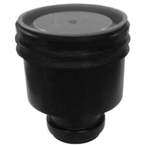 ACO FlexDrain puthuis onderuitlaat met steekmof 80 mm. Zwart