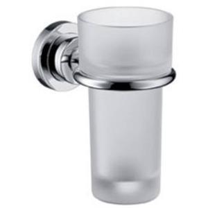 Hansgrohe Axor Citterio glashouder met glas Chroom