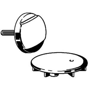 Viega Rotaplex visign r2 roset en afdekplaat voor badafvoer Chroom