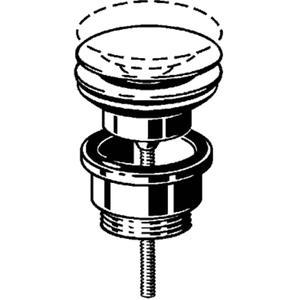 Viega Visign v1 afvoerplug  1 1/4 inch met pop-up Chroom