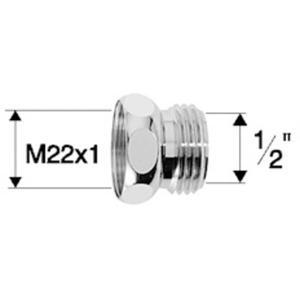 Neoperl straalregelaar verloopring 1/2 inch bu
