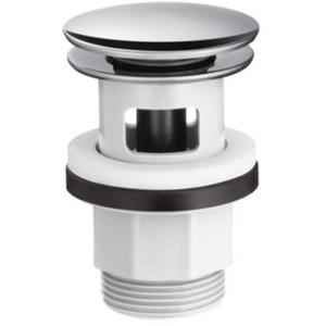 Hansgrohe push-open afvoerplug 1 1/4 inch Chroom