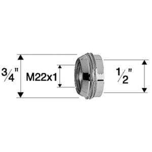 Neoperl euroring 3/4 inchx1/2 inchxm22