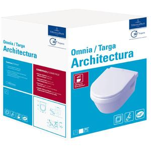 Villeroy & Boch Omnia Architectura wandcloset Combi-Pack Wit