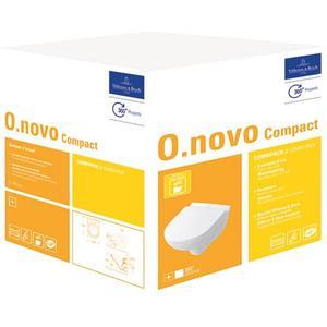 Villeroy & Boch O.Novo Compact wandcloset Combi-Pack Wit