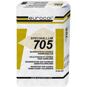 Eurocol Tegelpoederlijm Zak A 25 Kg. 705