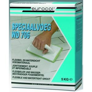 Eurocol Wd Speciaalvoeg Ds.A 5 Kg. 70632 Antraciet