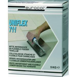 Eurocol Tegelpoederlijm Doos A 5 Kg. 711 Uniflex