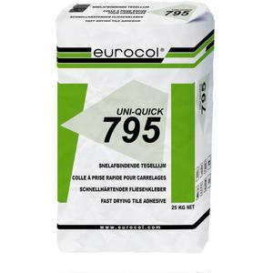 Eurocol Uni-Quick Cementpoederlijm Zak A 25 Kg 795