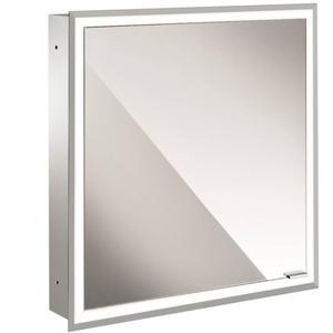Emco Asis prime inbouw spiegelkast 60 1xdeur links-led binnen spiegel