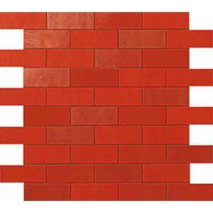 Atlas Mat Ewall 30,5X30,5 A6St.Minibrick 9Emr Red