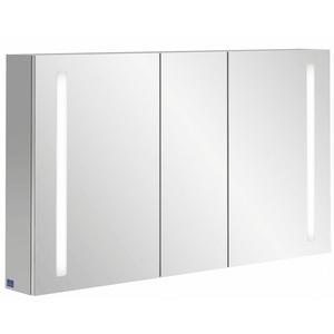 Villeroy & Boch My View 14 spiegelkast 130cm.3x deur m/led m/vergrootspiegel