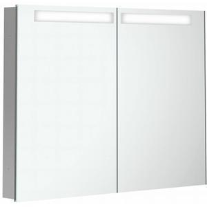Villeroy & Boch My View In inbouw spiegelkast 100cm 2xdeur+led+vergr.spiegel