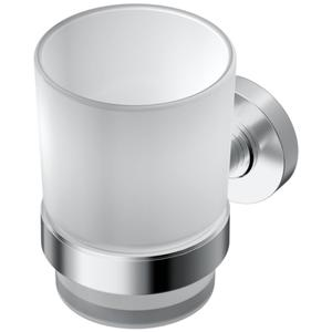 Ideal Standard Iom glashouder met glas Chroom-Mat Glas