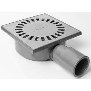 Easydrain Aqua Compact vloerput abs 15x15cm horizontaal
