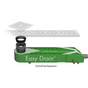 Easydrain Wtw warmte terug win systeem 65x16 cm.h 90mm.met sifon