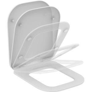 Ideal Standard Tonic Ii closetzitting met deksel softclosing Wit