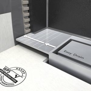 Easydrain Modulo taf wall verlengset standaard RVS