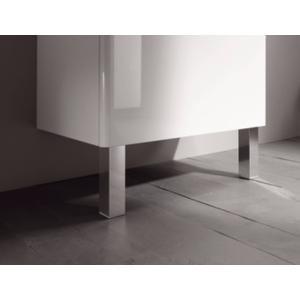 Sphinx Serie 320XS meubelpoten voor wastafelonderbouw Aluminium Mat