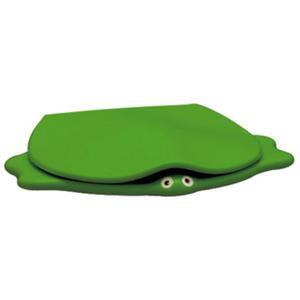 Sphinx Serie 300 Kids turtle closetzitting met deksel Groen