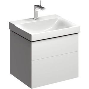 Sphinx Serie 420 New wastafelonderkast 2xla voor wastafel 60 cmm/led Wit
