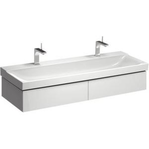 Sphinx Serie 420 New wastafelonderkast 2xla voor wastafel 140cmm/led Wit